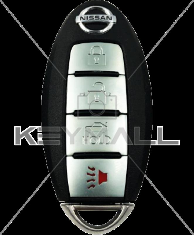 LLAVE CONTROL NISSAN PROX FCC KR5S180144014 4B Cajuela 433MHZ ID 47