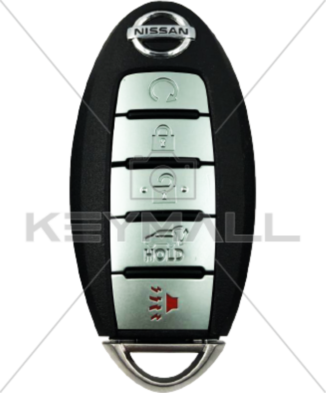 LLAVE CONTROL NISSAN PROX FCC KR5S180144014 5B TAPA 433MHZ ID 4A